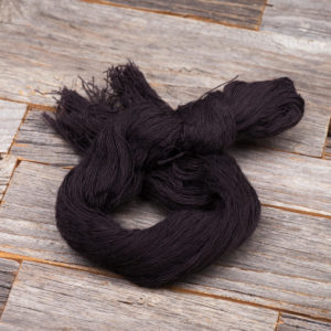 SockUpYourLife schwarzes Baumwollgarn Anthrazit
